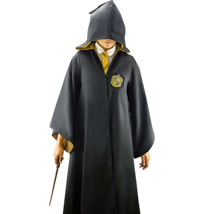 Official Adults Hufflepuff Robe at the best quality and price at House Of Spells- Harry Potter Themed Shop In London. Get Your Adults Hufflepuff Robe now with 15% discount using code FANDOM at Checkout. www.houseofspells.co.uk.