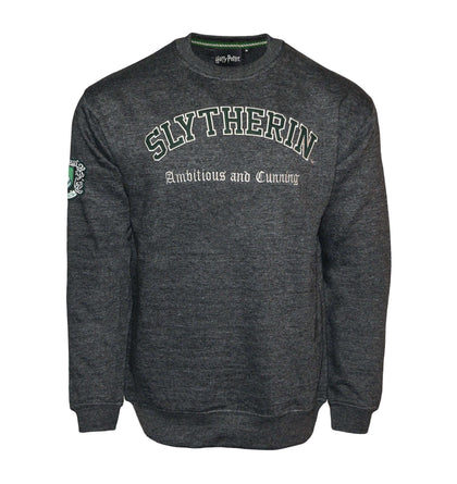 Official Harry Potter Sweatshirt-Slytherin at the best quality and price at House Of Spells- Harry Potter Themed Shop In London. Get Your Harry Potter Sweatshirt-Slytherin now with 15% discount using code FANDOM at Checkout. www.houseofspells.co.uk.