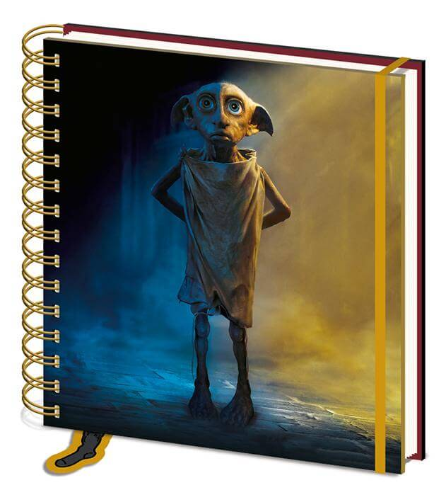 Dobby Square Notebook