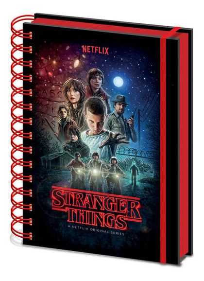 Stranger Things (ONE SHEET) Metallic Notebook