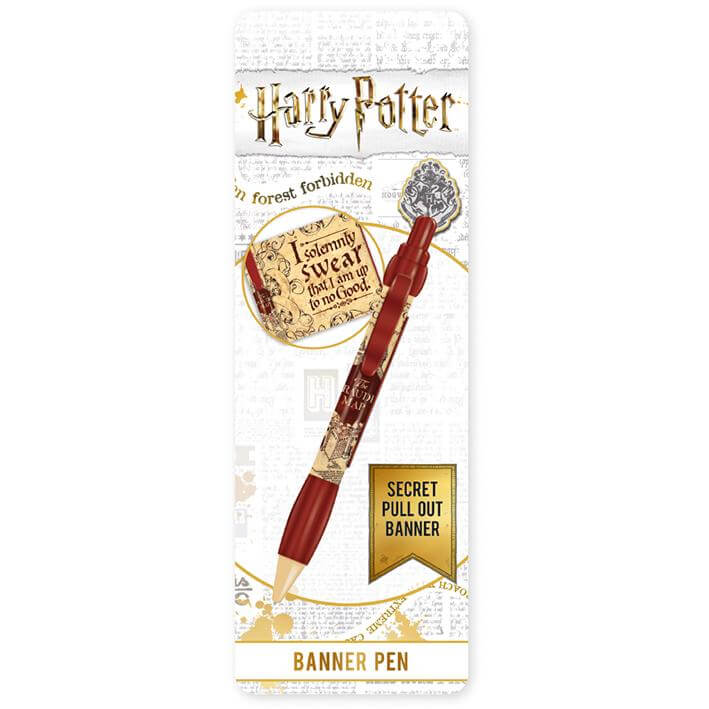 Marauder's Map Pen With Banner