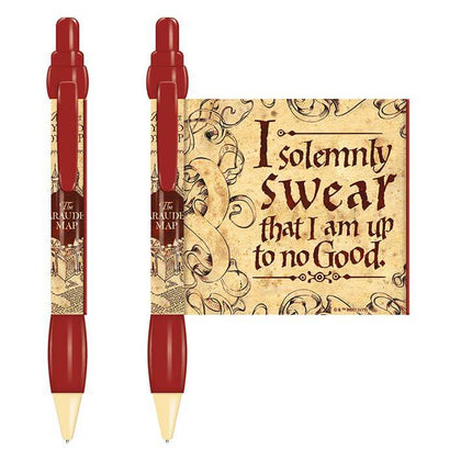 Official Harry Potter Marauder's Map Pen With Banner at the best quality and price at House Of Spells- Harry Potter Themed Shop In London. Get Your Harry Potter Marauder's Map Pen With Banner now with 15% discount using code FANDOM at Checkout. www.houseofspells.co.uk.