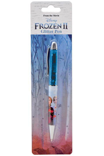 Official Frozen 2 Glitter Ballpoint Pen at the best quality and price at House Of Spells- Harry Potter Themed Shop In London. Get Your Frozen 2 Glitter Ballpoint Pen now with 15% discount using code FANDOM at Checkout. www.houseofspells.co.uk.