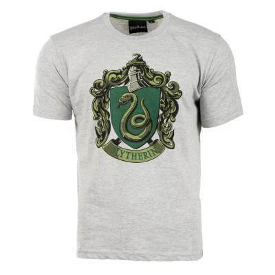 Harry Potter Printed T-Shirt-Slytherin Crest - House Of Spells