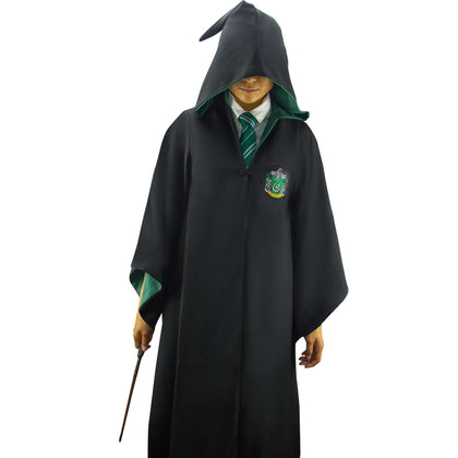 Official Adults Slytherin Robe at the best quality and price at House Of Spells- Fandom Collectable Shop. Get Your Adults Slytherin Robe now with 15% discount using code FANDOM at Checkout. www.houseofspells.co.uk.