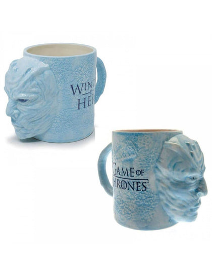 Official Game of Thrones Night King Mega 3D Mug at the best quality and price at House Of Spells- Fandom Collectable Shop. Get Your Game of Thrones Night King Mega 3D Mug now with 15% discount using code FANDOM at Checkout. www.houseofspells.co.uk.