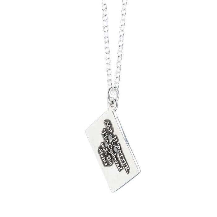 Hogwarts Letter Sterling Silver Charm Necklace