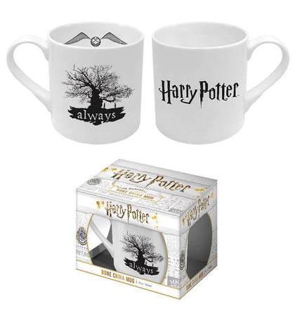 Official Harry Potter Always Bone China Mug at the best quality and price at House Of Spells- Harry Potter Themed Shop In London. Get Your Harry Potter Always Bone China Mug now with 15% discount using code FANDOM at Checkout. www.houseofspells.co.uk.