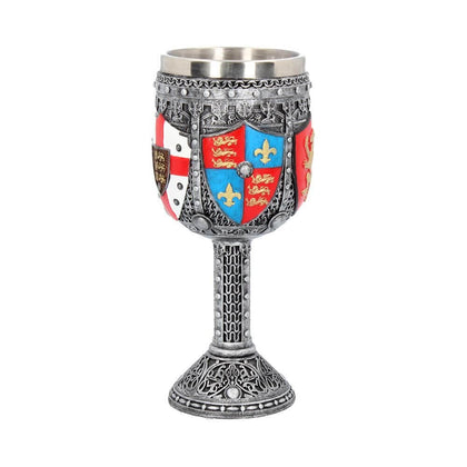 Official English Goblet 17cm at the best quality and price at House Of Spells- Harry Potter Themed Shop In London. Get Your English Goblet 17cm now with 15% discount using code FANDOM at Checkout. www.houseofspells.co.uk.