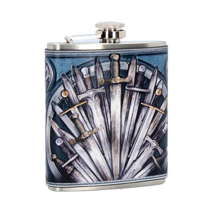 Official Sword Hip Flask 7oz at the best quality and price at House Of Spells- Fandom Collectable Shop. Get Your Sword Hip Flask 7oz now with 15% discount using code FANDOM at Checkout. www.houseofspells.co.uk.