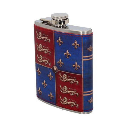Official Medieval Hip Flask 7oz at the best quality and price at House Of Spells- Fandom Collectable Shop. Get Your Medieval Hip Flask 7oz now with 15% discount using code FANDOM at Checkout. www.houseofspells.co.uk.