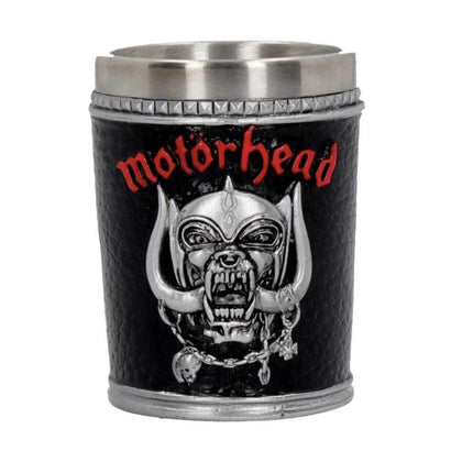 Official MOTORHEAD SHOT GLASS- Single at the best quality and price at House Of Spells- Harry Potter Themed Shop In London. Get Your MOTORHEAD SHOT GLASS- Single now with 15% discount using code FANDOM at Checkout. www.houseofspells.co.uk.