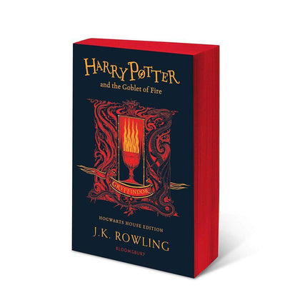 Harry Potter and The Goblet of Fire Gryffindor Edition Paperback