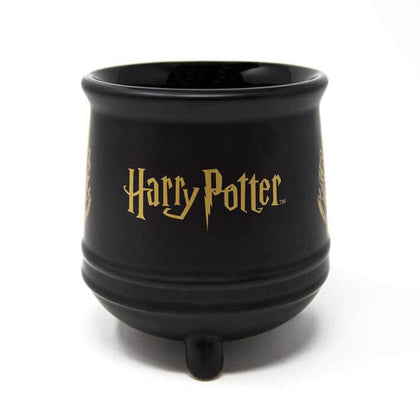 Official Harry Potter Hogwarts Crest Ceramic Cauldron Mug at the best quality and price at House Of Spells- Harry Potter Themed Shop In London. Get Your Harry Potter Hogwarts Crest Ceramic Cauldron Mug now with 15% discount using code FANDOM at Checkout. www.houseofspells.co.uk.