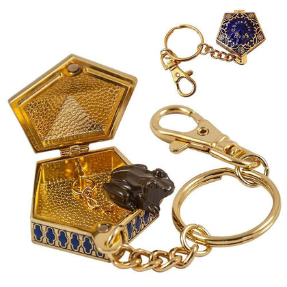 Official Chocolate Frog Keychain at the best quality and price at House Of Spells- Fandom Collectable Shop. Get Your Chocolate Frog Keychain now with 15% discount using code FANDOM at Checkout. www.houseofspells.co.uk.