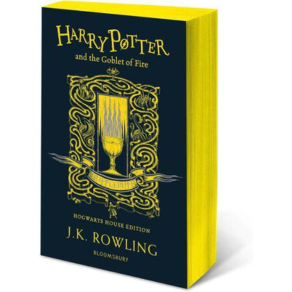 Harry Potter and The Goblet of Fire Hufflepuff Edition Paperback