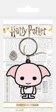 Load image into Gallery viewer, Dobby Chibi Rubber Keyring - House Of Spells