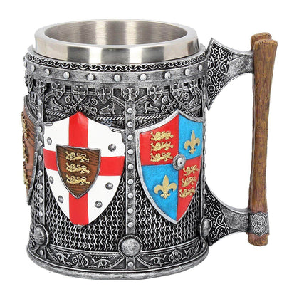 Official English Tankard 17cm at the best quality and price at House Of Spells- Harry Potter Themed Shop In London. Get Your English Tankard 17cm now with 15% discount using code FANDOM at Checkout. www.houseofspells.co.uk.