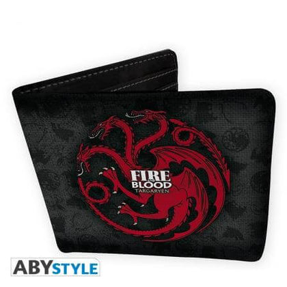 Official Game of Thrones House Targaryen Wallet at the best quality and price at House Of Spells- Fandom Collectable Shop. Get Your Game of Thrones House Targaryen Wallet now with 15% discount using code FANDOM at Checkout. www.houseofspells.co.uk.