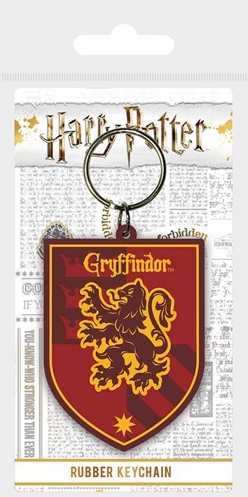 Official Gryffindor Crest Rubber Keyring at the best quality and price at House Of Spells- Harry Potter Themed Shop In London. Get Your Gryffindor Crest Rubber Keyring now with 15% discount using code FANDOM at Checkout. www.houseofspells.co.uk.