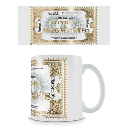 Official Harry Potter Hogwarts Express Ticket Mug at the best quality and price at House Of Spells- Harry Potter Themed Shop In London. Get Your Harry Potter Hogwarts Express Ticket Mug now with 15% discount using code FANDOM at Checkout. www.houseofspells.co.uk.