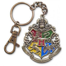 Load image into Gallery viewer, Hogwarts Crest Keychain