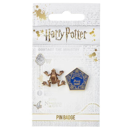 Official Chocolate Frog Pin Badge at the best quality and price at House Of Spells- Fandom Collectable Shop. Get Your Chocolate Frog Pin Badge now with 15% discount using code FANDOM at Checkout. www.houseofspells.co.uk.