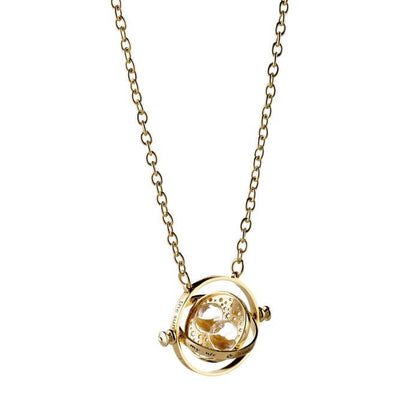 Harry Potter 30Mm Spinning Time Turner Necklace - House Of Spells