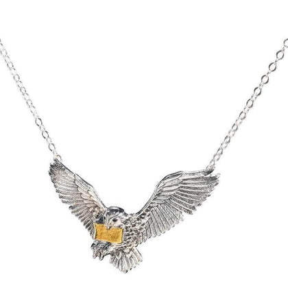 The Flying Hedwig Pendant - House Of Spells