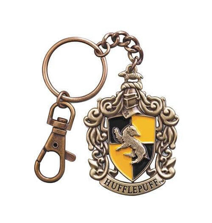 Official Hufflepuff Crest Keychain at the best quality and price at House Of Spells- Fandom Collectable Shop. Get Your Hufflepuff Crest Keychain now with 15% discount using code FANDOM at Checkout. www.houseofspells.co.uk.