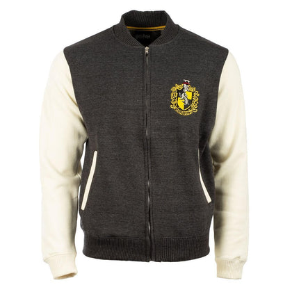 Official Harry Potter Hufflepuff Crest Varsity Jacket at the best quality and price at House Of Spells- Fandom Collectable Shop. Get Your Harry Potter Hufflepuff Crest Varsity Jacket now with 15% discount using code FANDOM at Checkout. www.houseofspells.co.uk.