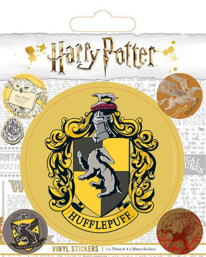 Official Hufflepuff Vinyl Sticker at the best quality and price at House Of Spells- Fandom Collectable Shop. Get Your Hufflepuff Vinyl Sticker now with 15% discount using code FANDOM at Checkout. www.houseofspells.co.uk.