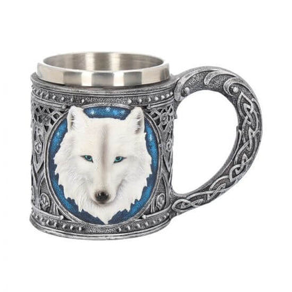 Official Ghost Wolf Tankard 15.4cm at the best quality and price at House Of Spells- Harry Potter Themed Shop In London. Get Your Ghost Wolf Tankard 15.4cm now with 15% discount using code FANDOM at Checkout. www.houseofspells.co.uk.
