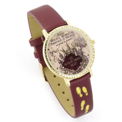 Official Harry Potter Marauders Map Watch at the best quality and price at House Of Spells- Harry Potter Themed Shop In London. Get Your Harry Potter Marauders Map Watch now with 15% discount using code FANDOM at Checkout. www.houseofspells.co.uk.