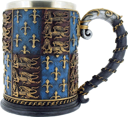 Official Medieval Tankard at the best quality and price at House Of Spells- Fandom Collectable Shop. Get Your Medieval Tankard now with 15% discount using code FANDOM at Checkout. www.houseofspells.co.uk.