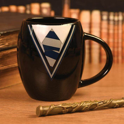 Official Harry Potter Ravenclaw Uniform Oval Mug at the best quality and price at House Of Spells- Harry Potter Themed Shop In London. Get Your Harry Potter Ravenclaw Uniform Oval Mug now with 15% discount using code FANDOM at Checkout. www.houseofspells.co.uk.