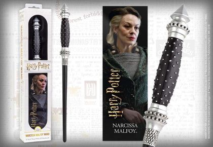 Official Narcissa Malfoy Toy Wand at the best quality and price at House Of Spells- Harry Potter Themed Shop In London. Get Your Narcissa Malfoy Toy Wand now with 15% discount using code FANDOM at Checkout. www.houseofspells.co.uk.