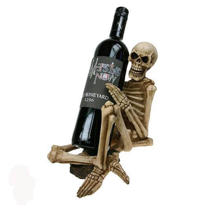 Official One Too Many Wine Bottle Holder at the best quality and price at House Of Spells- Fandom Collectable Shop. Get Your One Too Many Wine Bottle Holder now with 15% discount using code FANDOM at Checkout. www.houseofspells.co.uk.