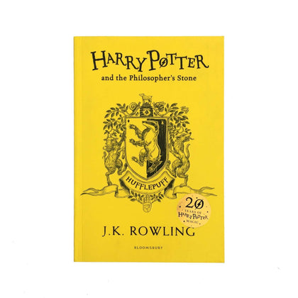 Harry Potter The Philosophers Stone Hufflepuff Edition Paperback
