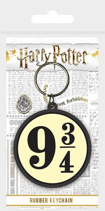 Platform 9 3/4 Rubber Keyring - House Of Spells