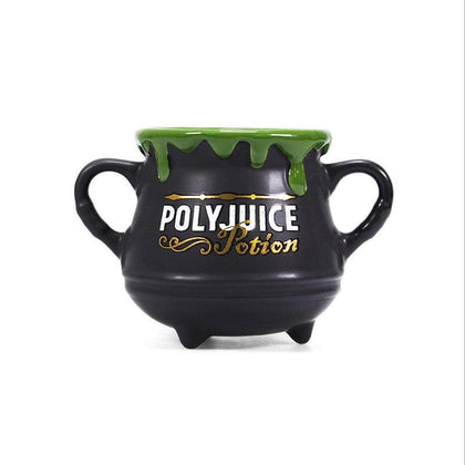 Official Harry Potter PolyJuice Potion Cauldron Mug (325ml) at the best quality and price at House Of Spells- Fandom Collectable Shop. Get Your Harry Potter PolyJuice Potion Cauldron Mug (325ml) now with 15% discount using code FANDOM at Checkout. www.houseofspells.co.uk.