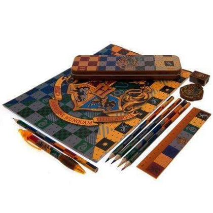 Official Harry Potter (House Crests)  Bumper Stationery Set at the best quality and price at House Of Spells- Harry Potter Themed Shop In London. Get Your Harry Potter (House Crests)  Bumper Stationery Set now with 15% discount using code FANDOM at Checkout. www.houseofspells.co.uk.