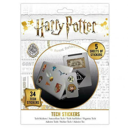 Official Harry Potter Tech Sticker Pack at the best quality and price at House Of Spells- Fandom Collectable Shop. Get Your Harry Potter Tech Sticker Pack now with 15% discount using code FANDOM at Checkout. www.houseofspells.co.uk.