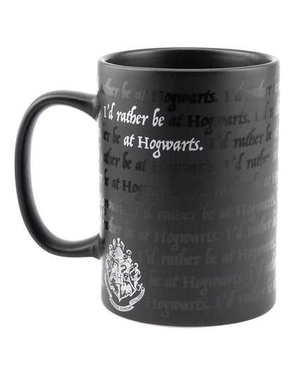Official I Would Rather Be At Hogwarts Mug at the best quality and price at House Of Spells- Harry Potter Themed Shop In London. Get Your I Would Rather Be At Hogwarts Mug now with 15% discount using code FANDOM at Checkout. www.houseofspells.co.uk.