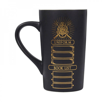 Official Harry Potter School List Latte Mug (500ml) at the best quality and price at House Of Spells- Harry Potter Themed Shop In London. Get Your Harry Potter School List Latte Mug (500ml) now with 15% discount using code FANDOM at Checkout. www.houseofspells.co.uk.