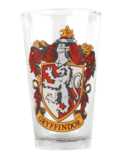 Harry Potter Gryffindor Crest Pint Glass Tumbler