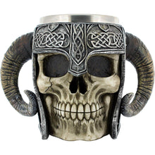 Load image into Gallery viewer, Viking Skull Tankard - House Of Spells