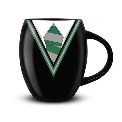 Official Harry Potter Slytherin Uniform Oval Mug at the best quality and price at House Of Spells- Harry Potter Themed Shop In London. Get Your Harry Potter Slytherin Uniform Oval Mug now with 15% discount using code FANDOM at Checkout. www.houseofspells.co.uk.
