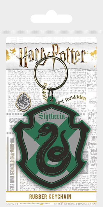 Slytherin Rubber Keyring - House Of Spells
