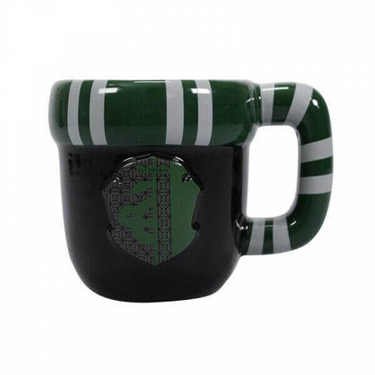 Official Slytherin Shaped Mug at the best quality and price at House Of Spells- Fandom Collectable Shop. Get Your Slytherin Shaped Mug now with 15% discount using code FANDOM at Checkout. www.houseofspells.co.uk.